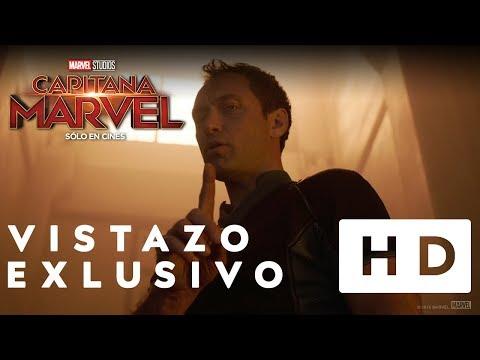 Capitana Marvel - Vistazo Exclusivo