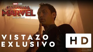 Capitana Marvel - Vistazo Exclusivo