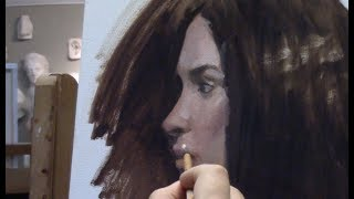 Alla-Prima Portrait Painting Demo | A Day of Painting at Zoll Studio of Fine Art