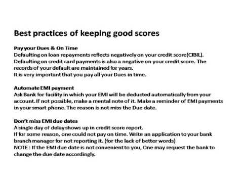 Effects of Credit score on Your Home Loan