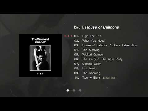 The Weeknd  Trilogy FULL ALBUM