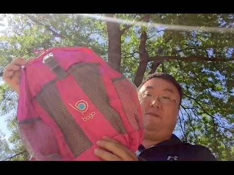 Lightweight foldable, collapsible, packable, waterproof daypack backpack by Bago Travel Bags