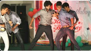 Vijay Devarakonda college time rare photos  || Childwood photos
