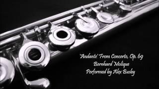 Andante - Bernhard Molique (flute solo)