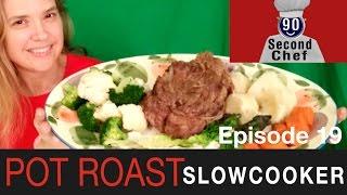 Pot Roast In A Slow Cooker 90sc_se01ep19