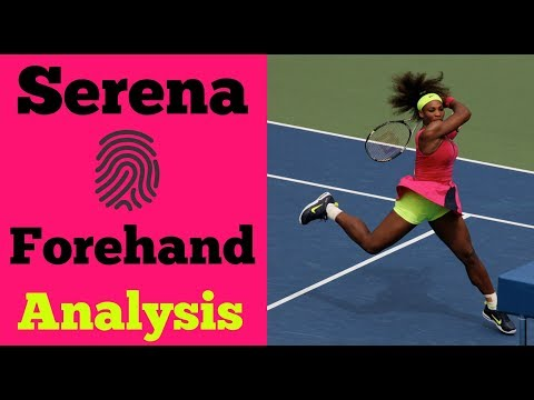 Serena Williams Forehand Analysis | Unique In Her Technique