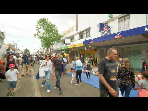 Sydney Video Walk 4K - Marrickville Festival Spring 2017