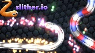Slither.io 37K Slither.io (Similar Game to Agar.io Solo Gameplay)
