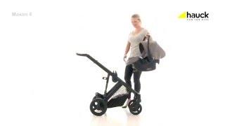 Hauck Trioset Maxan 4 - ger dig och ditt barn maximal komfort