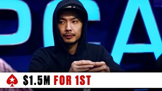 PokerStars Caribbean Adventure 2019 -Main Event ♠️  Final Table ♠️  PokerStars Global