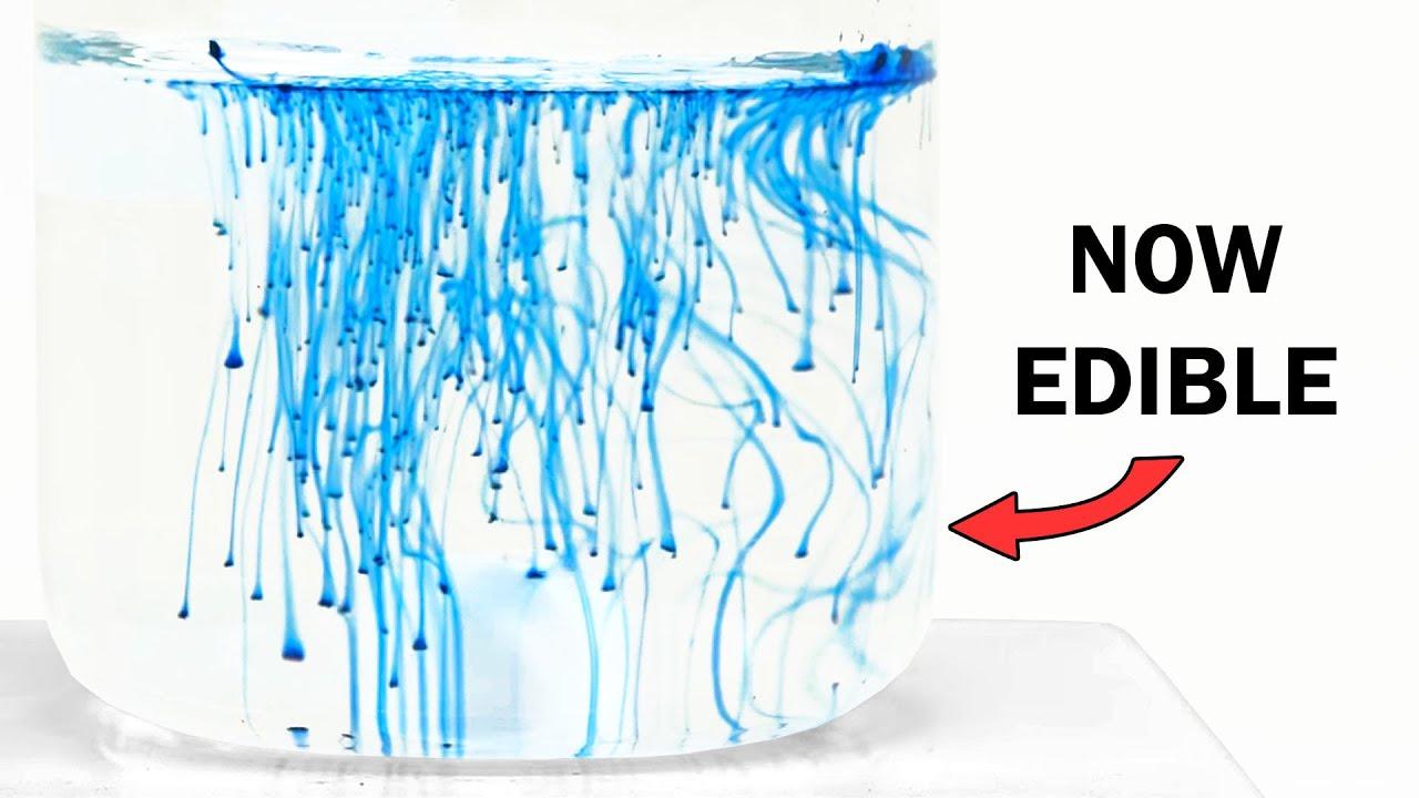 Making an edible blue dye | Edible Chem