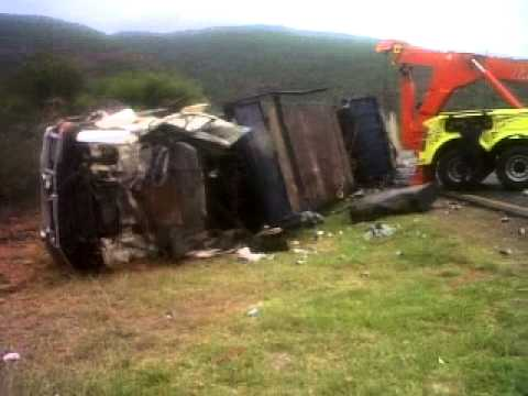 Truck accident recovery sans souci towing