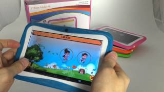 7 inch Kids Tablet PC Children Tablet PC - Android 4.4 Verson.