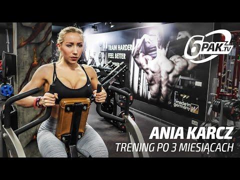 Kontrastowy trening z Anią Karcz po 3 miesiącach | OBIEGÓWKA