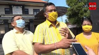 DPD Golkar Gianyar Serahkan Bantuan Covid-19 di Desa Pering
