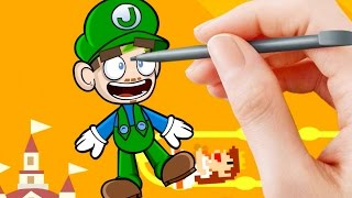 Jacksepticeye Animated | Super Mario Maker thumbnail