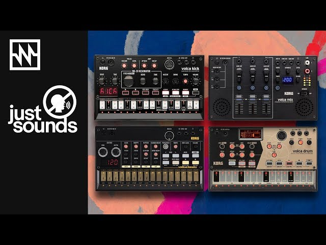 KORG Volca Percussion Kit: Just Sounds Demo