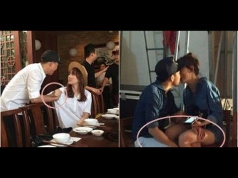Lộ ảnh Hari Won ngồi lên đùi, hôn Trấn Thành(tin tuc sao viet)