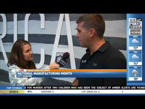 Maryland Manufacturing Extension Partnership (MD MEP) Featured on Fox45 Morning News