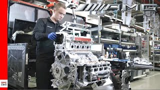 2020 Mercedes AMG V8 Engine Assembly Production Factory