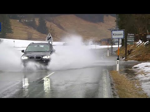 Maltempo: Fulmini E Saette In Austria, Germania E Svizzera