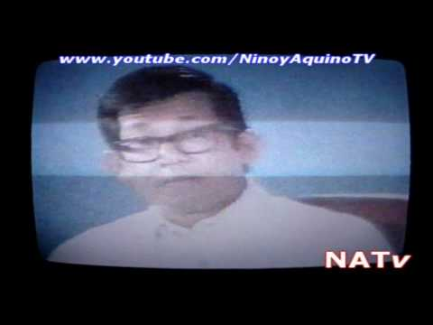 "NINOY Aquino's ""Face The Nation"" interview (an excerpt)"