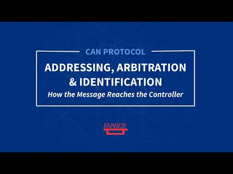 Kvaser CAN Protocol Course: Addressing, Arbitration and Identification (Part 3)