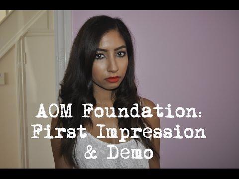 Artist Of Makeup Flawless HD Cream Foundation - First Impression & Demo | Bhavna Nina