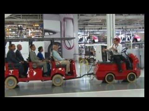 PM Modi visits Tesla Motors, Palo Alto