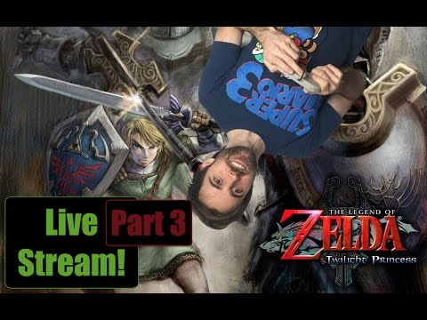 The Legend of Zelda: Twilight Princess HD LIVE 1080p - Part 3 (Getting to the Water Temple!)