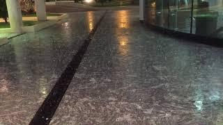 Ice rain in Kuwait