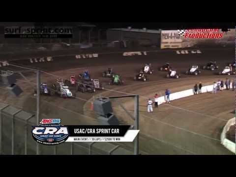 Perris Auto Speedway 4-6-13 :: USAC/CRA Sprint Cars