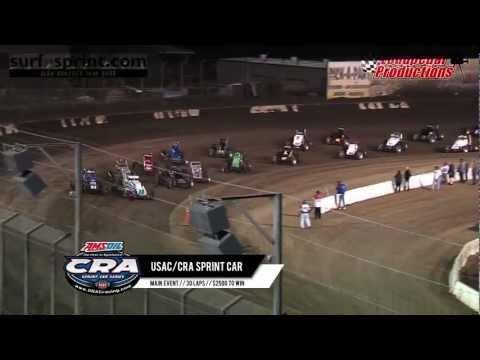 Perris Auto Speedway 4-6-13 :: USAC/CRA Sprint Cars