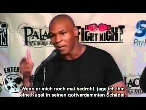 Zitate vom aggressiven Mike Tyson   YouTube