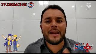 TV SINDACS PE - Presidente anuncia a nova subsede do SINDACS PE no município de Jaboatão/PE