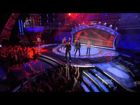 Adam Lambert  -  Don't Stop Believing  - Top 9 Results - 01/04/09