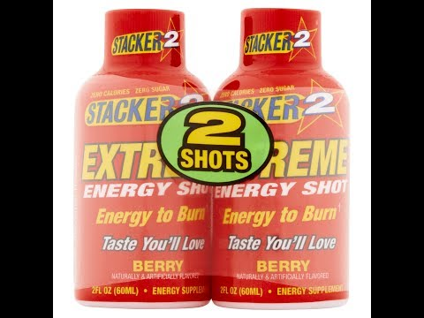 Stacker 2 Extreme Energy Shot Berry Energy Supplement Review