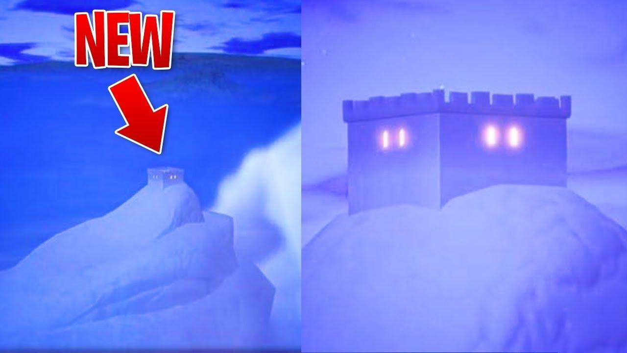 New Iceberg Easter Egg In Fortnite Battle Royale Season 7 Map