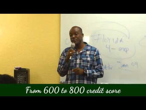 """Credit Reality """"Success stories with Dr.Regina Littles"""" Michael"""