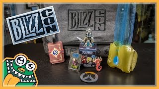 BlizzCon 2015 Goody Bag Unboxing And Overview
