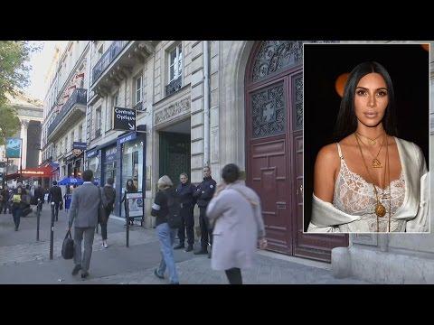 Kim Kardashian Tied Up And Robbed At Gunpoint