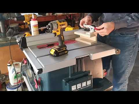 Building a Tenoning Jig For Your Table Saw