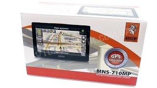 Обзор GPS навигатор Mystery