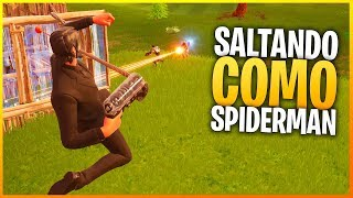 FORTNITE: KILLING PEOPLE LIKE SPIDERMAN WTF?! | Makina