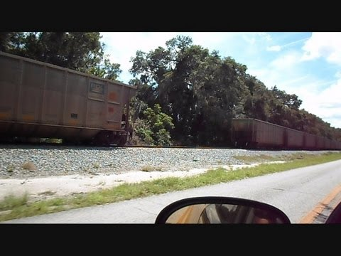 CSX Coal Train Knuckle Breaks Train Separates Goes Into Emergency