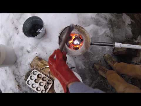 CASTING ALUMINUM AND MAKING RINGS ( DANGEROUS)