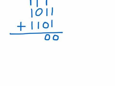 How to add binary numbers