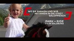 Park + Ride Salzburg | mit dem Obus in die Salzburger Altstadt | Sightseeing