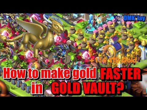Gold vault dragon mania legends strongest man on steroids