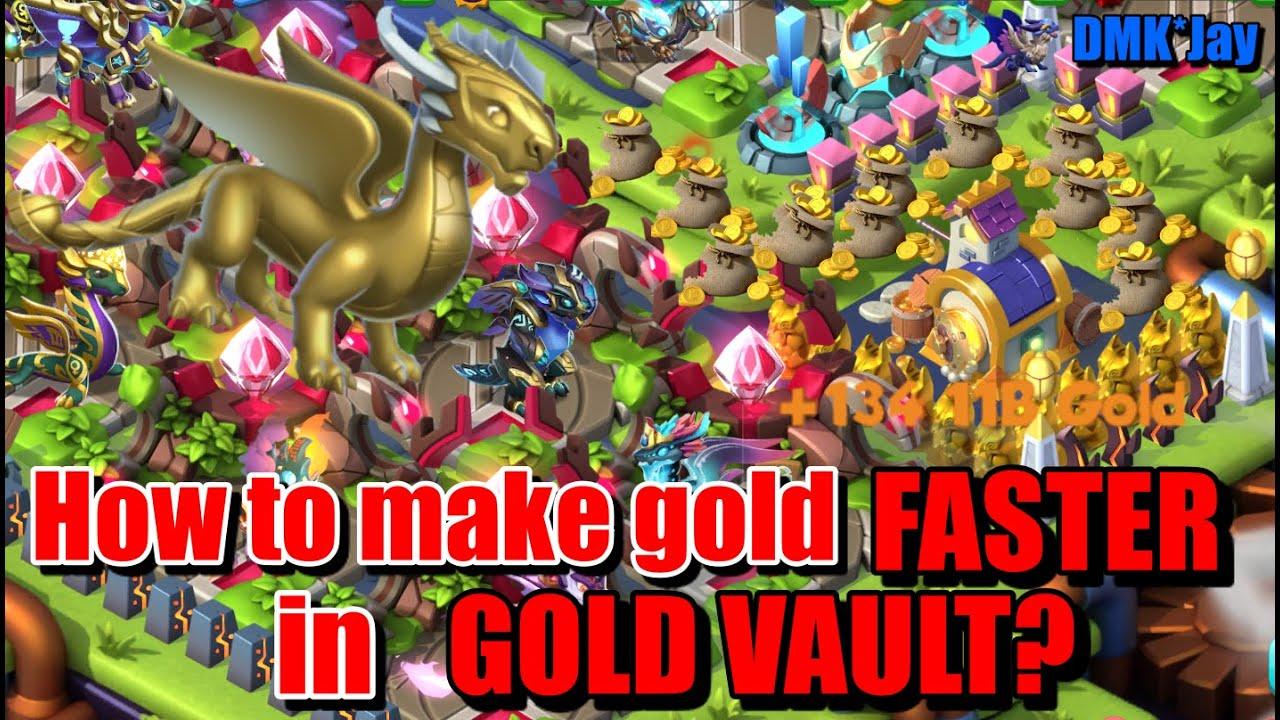 Gold vault dragon mania legends pandora gold dragon charm